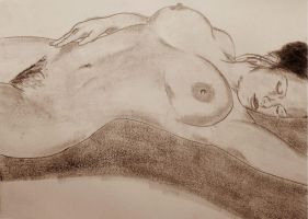 Reclining Nude 9 by CpointSpoint