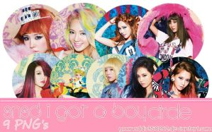 SNSD I Got A Boy Circle all members by yoonaddict150202
