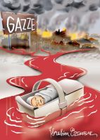 gaza and palestine cartoons 9 by ademmm