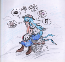 Bored Tenshi by Mad-Silence