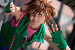 Sora - Up and away by Evil-Uke-Sora