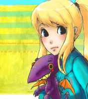 Day Off from Metroid Fighting by Koolaid-Girl