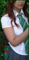 Slytherin Girl by Thara-Wood