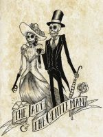 The Lady and The Gentleman by Razorblade-13