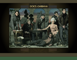 Dolce and Gabbana wallpaper 1 by Nik-kun123