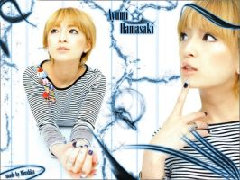 Blend with Ayumi Hamasaki by QuEeN-MiUsHkA