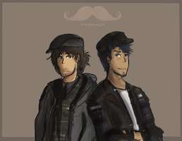 MOVEMBER by Jahzz
