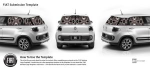 Fiat Black And White by FractalBee