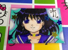 ACEO: Sailor Saturn by Magical-Mama