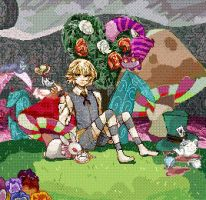 alice genderbend-pixel GIF by Danny-chama