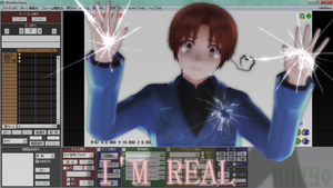 .:I'M REAL:. by Muxyo