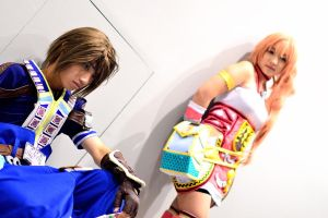 FFXIII 2 Noel and Serah by crystalfirey