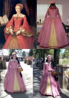 """Tudor Rose"" gown by keiriel"