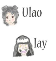 Maiko Spawn- Iay and Ulao by LittleJuniper