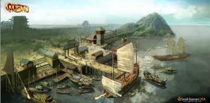 Junk Dock (Concept Art) by Age-of-Wushu