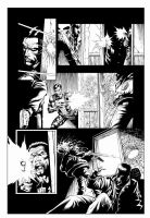 page of the Punisher test by macacaralho