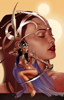 DEJAH THORIS 18 cover by PaulRenaud