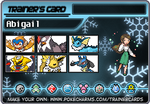 My Trainer Card by AbbyTheAstronomer
