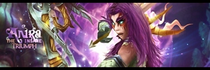 Night Elf Hunter Signature by Uberkayt