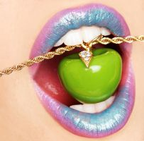 Apple Lips by NCarpello