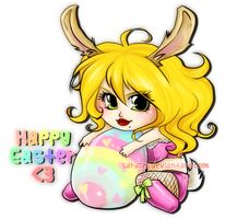 WH - Lady L says HAPPY EASTER by Sardiini