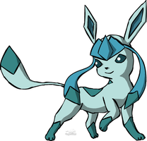 Glaceon by Dragon-Minded