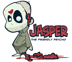 Jasper the Friendly Psycho by Ape74