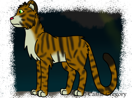 Tiger thing by The-Smile-Giver