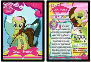 Gem Stone MLP Trading Card by Priceless911