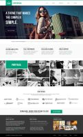 Senna - Portfolio and Blog PSD Template by DarkStaLkeRR