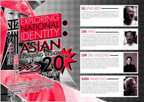 Asian Branding Design Brochure by zhoumlh
