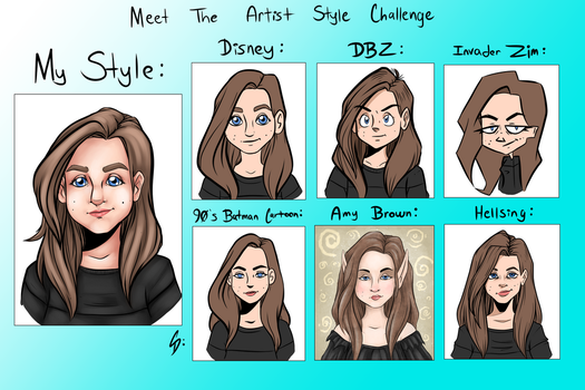 Style Challenge by ShorterThanTheEeasel