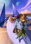 Star Fox and Falco by Deputee