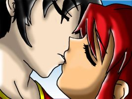 Kiss by Starfire47Robin
