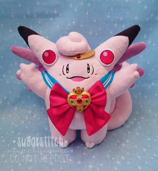 Pokemon: Sailor Clefable by sugarstitch