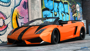 Gallardo LP570 Spyder by RJamp