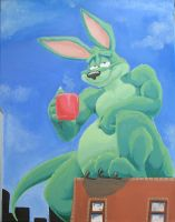 Duncan Painting by teaselbone