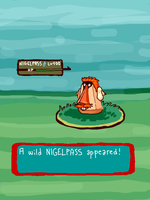 A wild Nigelpass appeared by TheLaaarch