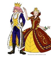 The King and Queen of Hearts by akatsuki-girl-krista