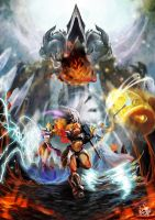Charge! Diablo 3 by Enigmasystem