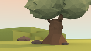 Blender: Low Poly Tree by Gindew