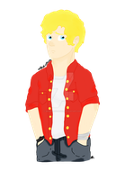 Modern!AU Enjolras by GreenDayFanGirl