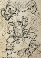 Anger Management Sketch by NunoWho