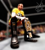 CM Punk - Wallpaper by MarcusMarcel