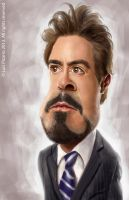 Robert Downey Jr by lepeART