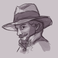 The Musketeers: Aramis by pseudoMim