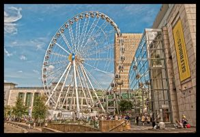 The Wheel of Manchester by rotten87