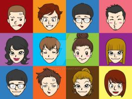 Let's create you own avatar by ninninny