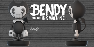 (BendyAndTheInkMachine)Bendy V2 Model by CutieTree