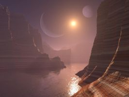 Planet Canyon by charmedy